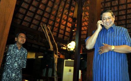 SBY Telpon JK Mengabarkan Kemenangannya