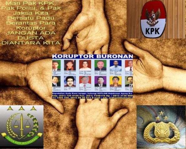 KPK Polisi Jaksa Bersatu